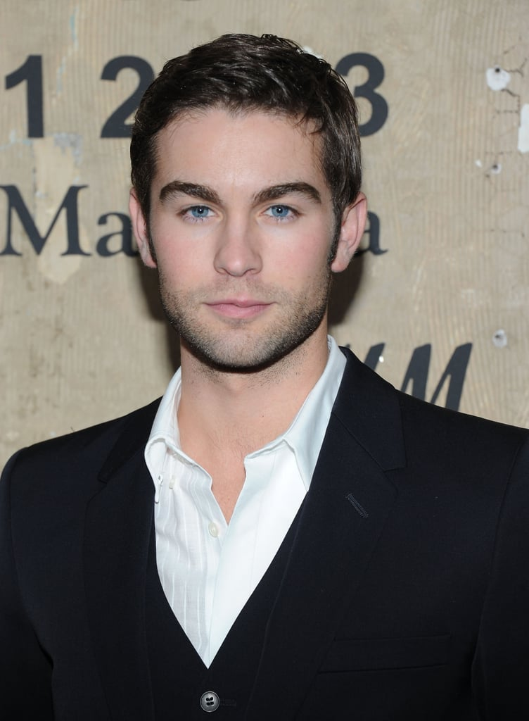 Chace Crawford posed for photos in NYC at the the launch of Maison Martin Margiela for H&M.
