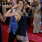 Gisele Bündchen mixed sexy and punky when she hit the red carpet with her husband, Tom Brady.