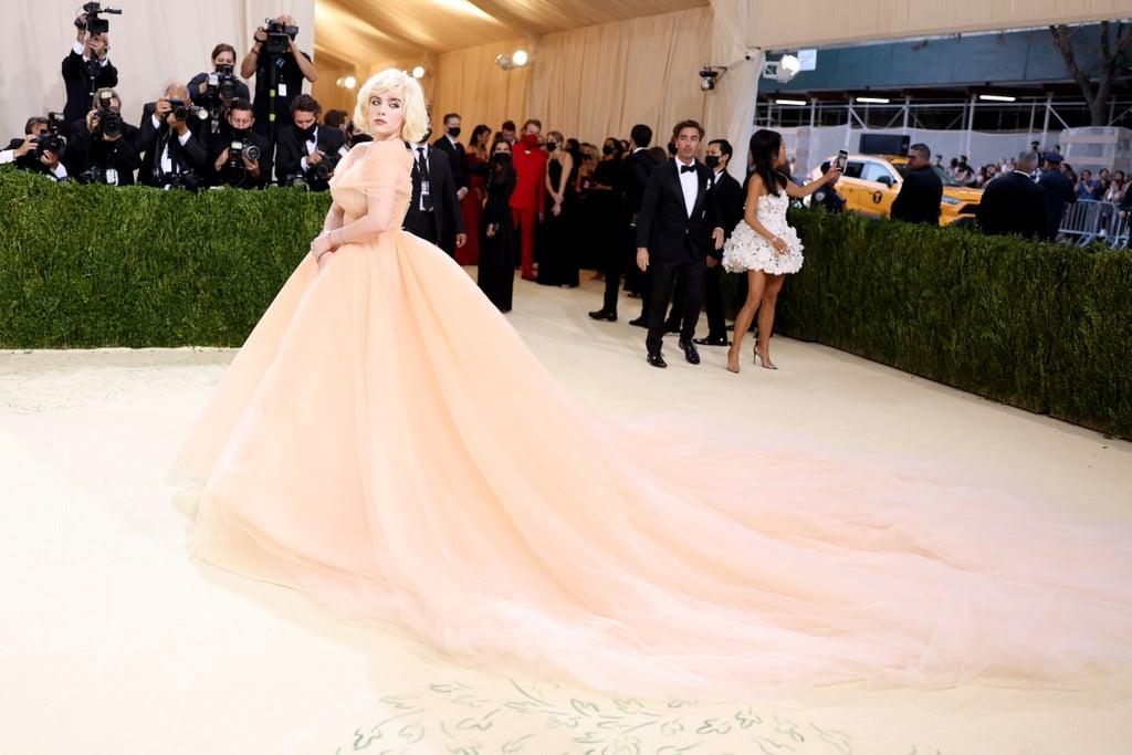 Billie Eilish's Oscar de la Renta Dress at the 2021 Met Gala
