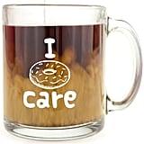 I Donut Care Glass Coffee Mug