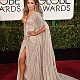 Jennifer Lopez at the 72nd Annual Golden Globe Awards
