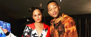 Chrissy Teigen and John Legend Wore Their Love For KFC on Their Sleeves, Literally