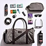 Men's Style Showbag ($28) Includes:  Duffle bag  Sunglasses  Belt