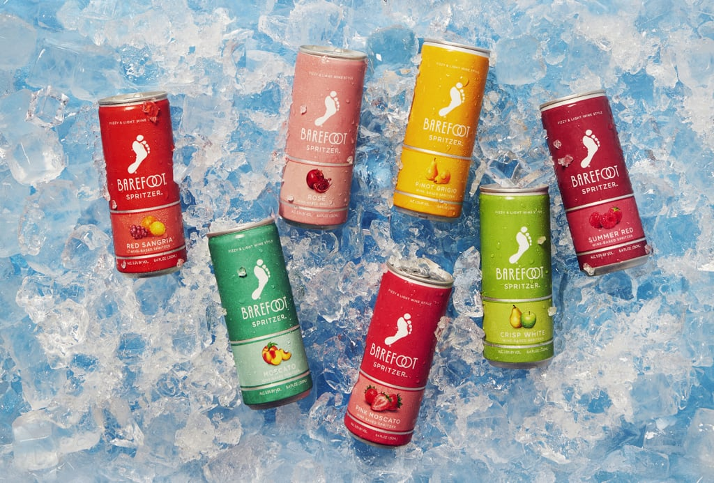 The Whole Lineup of Barefoot Canned Spritzer Flavors