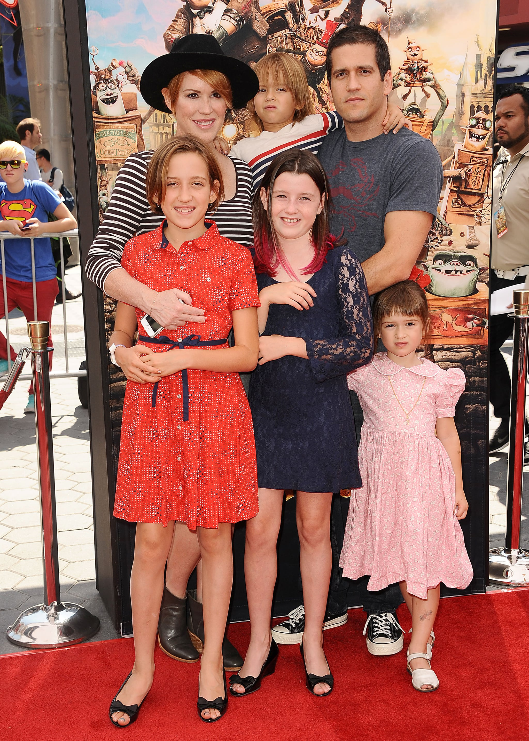 Molly Ringwald Kids 2017