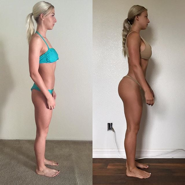 Booty Gains Before and After | POPSUGAR Fitness