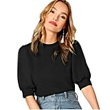 SheIn Puff-Sleeve Top