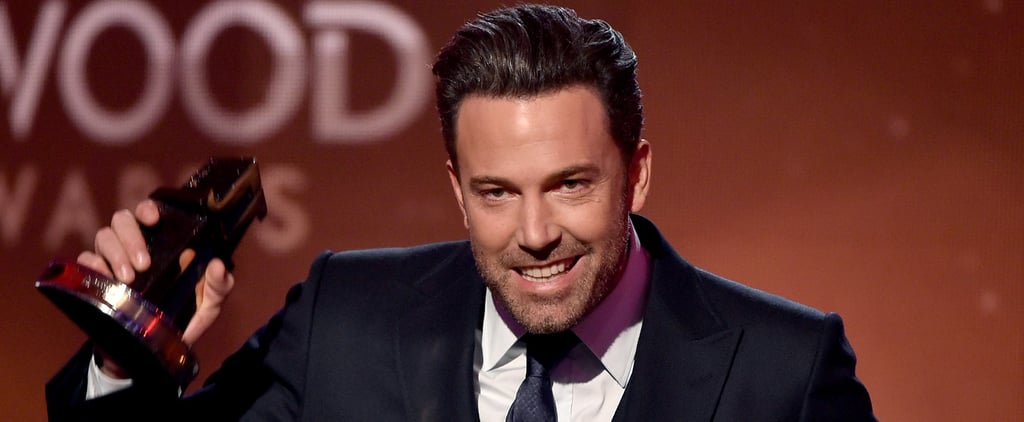 Ben Affleck at the Hollywood Film Awards 2014 | Video