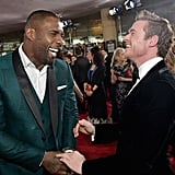 Idris Elba and Richard Madden at the Golden Globes 2019