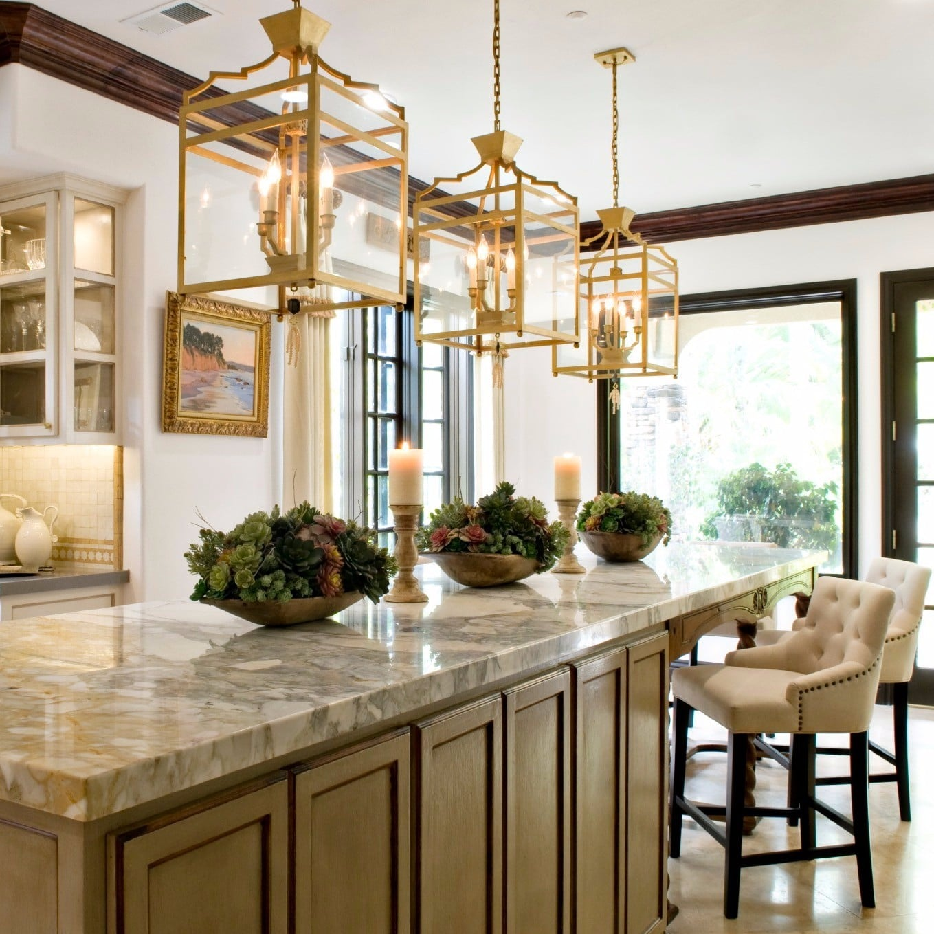 Real Housewife Vicki Gunvalson\'s Kitchen | POPSUGAR Home