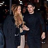 Mariah Carey Wearing James Packer Engagement Ring