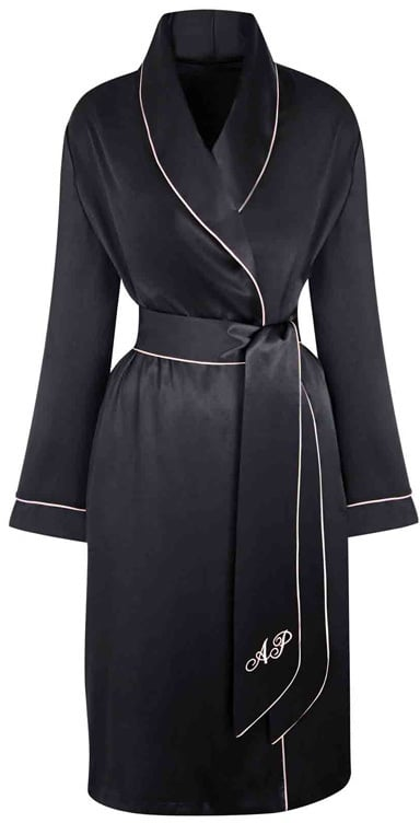 Wondering what to wear for the late-night 3+ hour showing? Slip into this Agent Provocateur Dressing Gown (£275) that is both comfortable and totally chic.