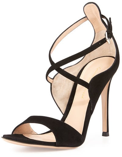 Gianvito Rossi Sisely Mid Sandals ($835)