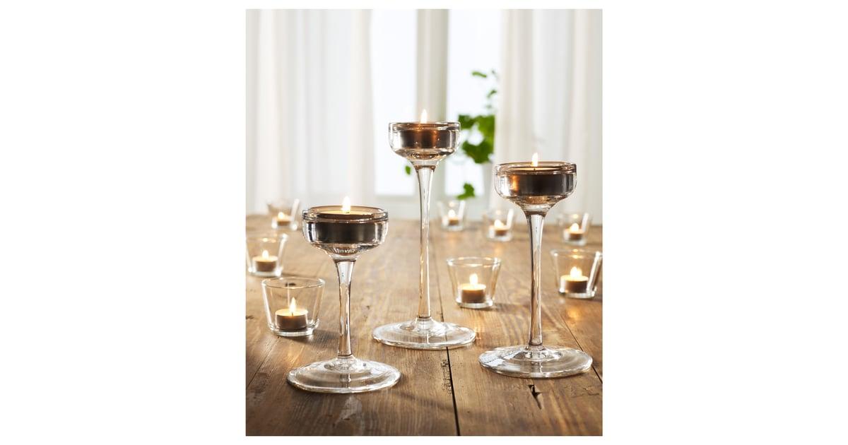 Blomster Candle Holders Ikea Wedding Decor Popsugar Home
