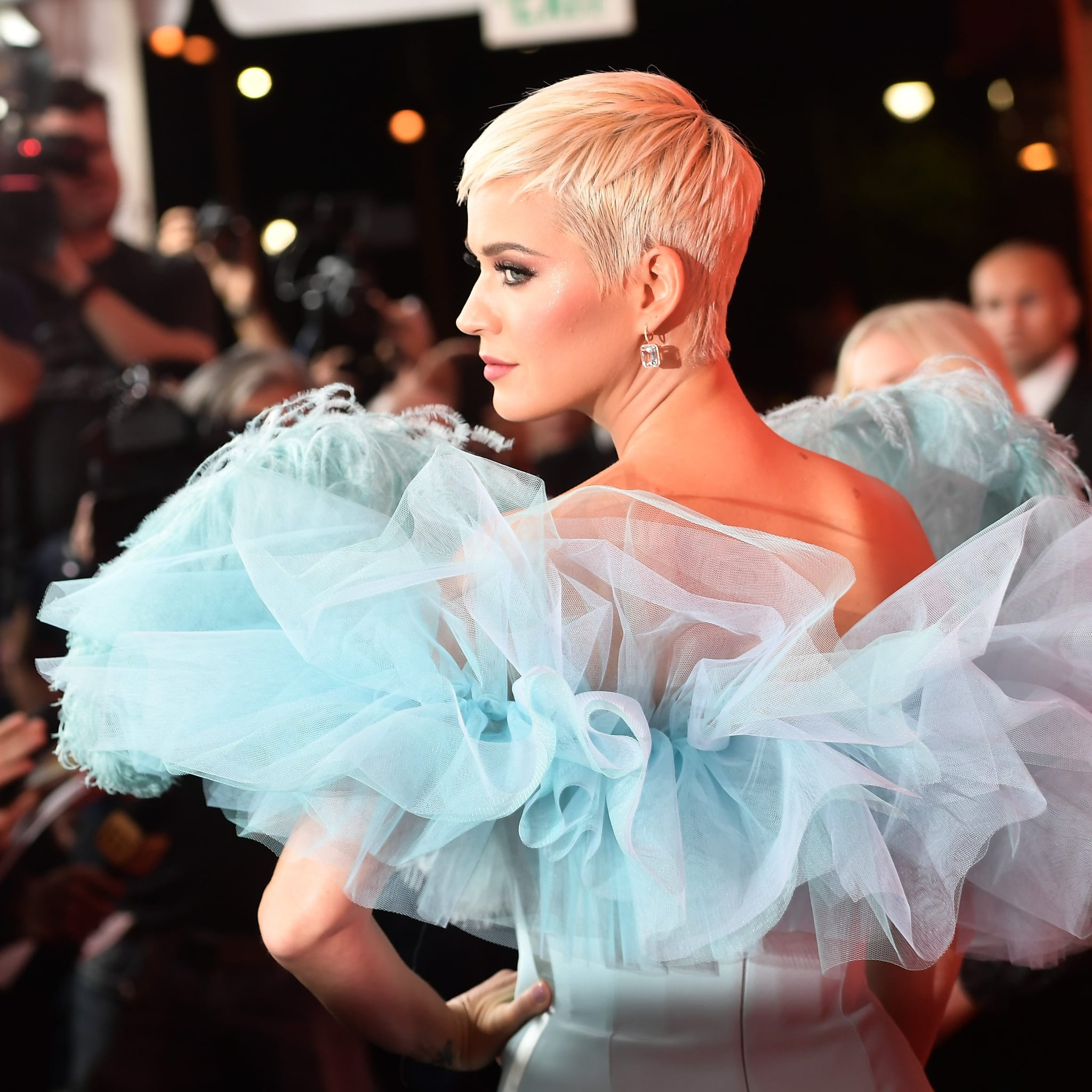 5989f39273d Katy Perry Quotes on Cutting Her Hair in Paper Magazine 2019 | POPSUGAR  Beauty