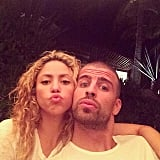 If Shakira and Piqué duck face, then we all duck face.
