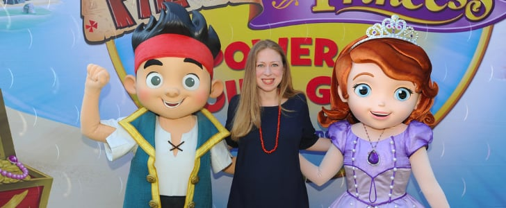 Pregnant Chelsea Clinton Talks Community Service With Disney