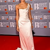 Adwoa Aboah at the 2020 BRIT Awards in London
