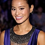 Jamie Chung at Monique Lhuillier Spring 2016