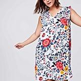 LOFT Plus Flowerbed Flutter Swing Dress