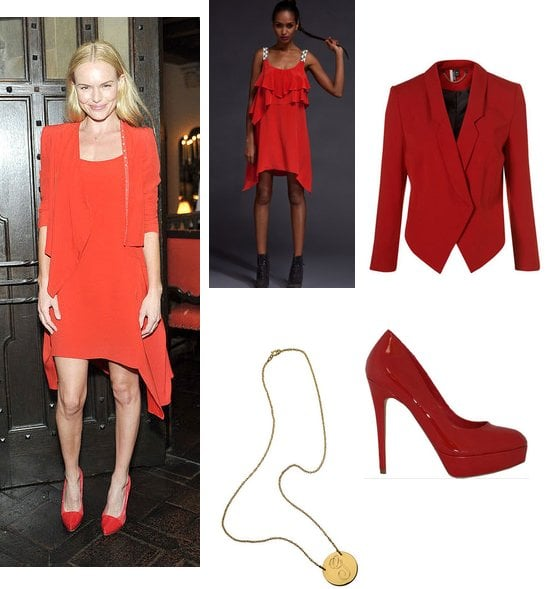 Get Inspired by Kate Bosworth and Wear All-Over Red Statement Colour for NYE