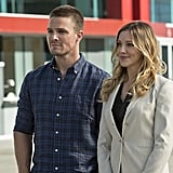 Of course, Laurel (Katie Cassidy) is back as well.