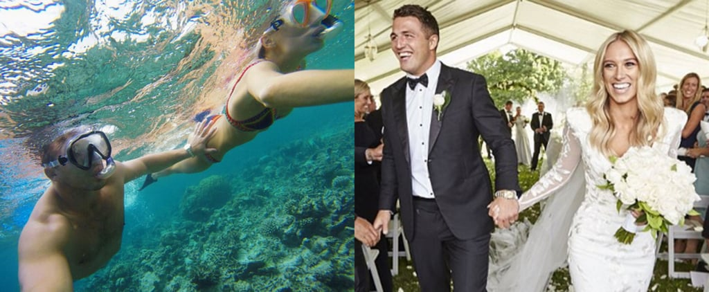 Sam and Phoebe Burgess Wedding and Honeymoon Pictures