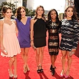 The Fab Five hit the red carpet together.