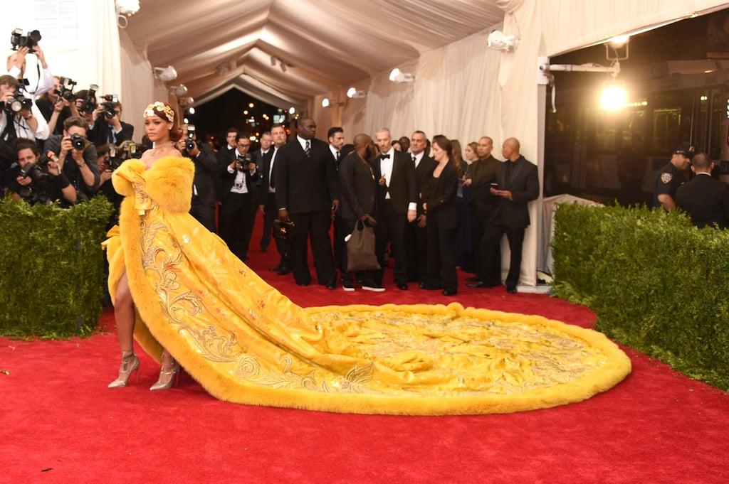 Rihanna's Dress at the Met Gala 2015