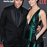 Peter Facinelli and Jaimie Alexander