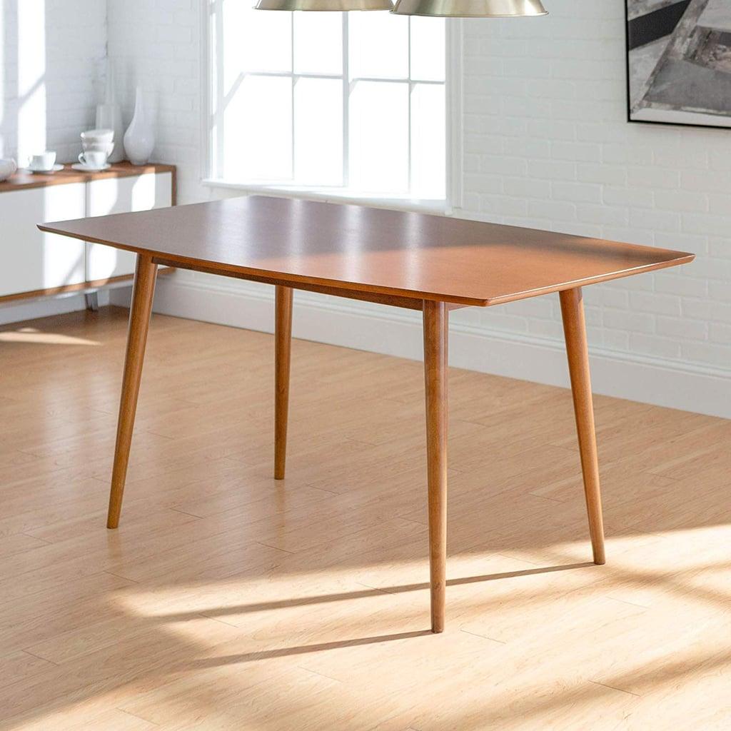 We Furniture Midcentury Modern Wood Hairpin Table