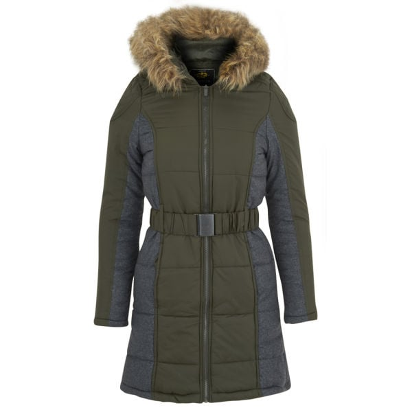 60219a4f967d Brave Soul Women s Neema Panel Padded Coat
