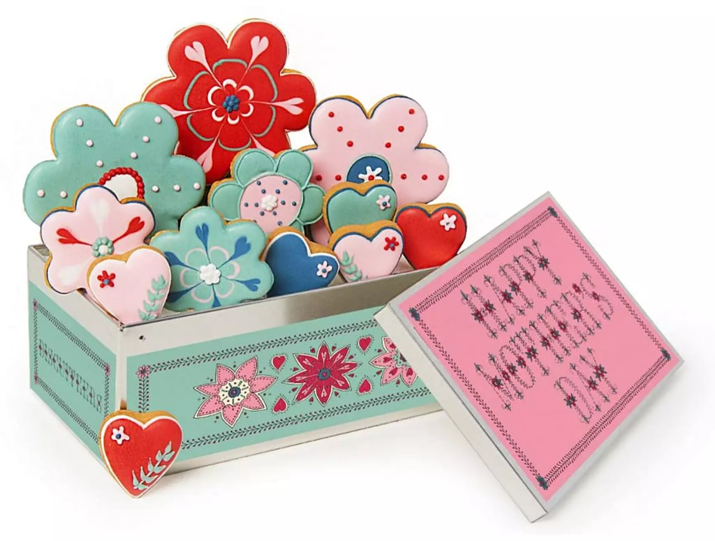 Biscuiteers Mother's Day Flowers Biscuit Tin