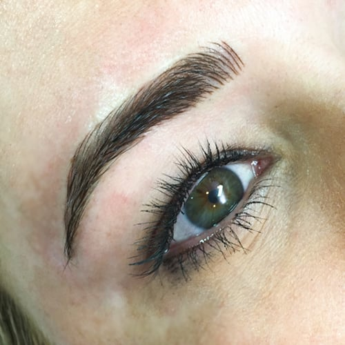 Microblading Eyebrow Trend | Video | POPSUGAR Beauty