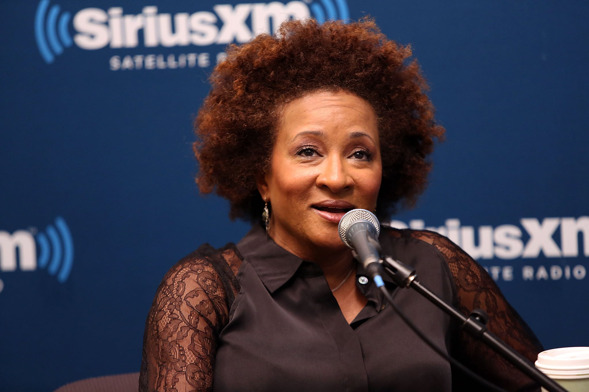 NEW YORK, NY - JANUARY 08:  Wanda Sykes visits Oprah Radio 'SiriusXM Leading Ladies' at SiriusXM Studios on January 8, 2014 in New York City.  (Photo by Robin Marchant/Getty Images)