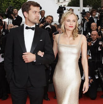 Diane Kruger and Joshua Jackson at the 2011 Cannes Sleeping Beauty Premiere