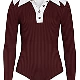 Long Sleeve Polo Bodysuit