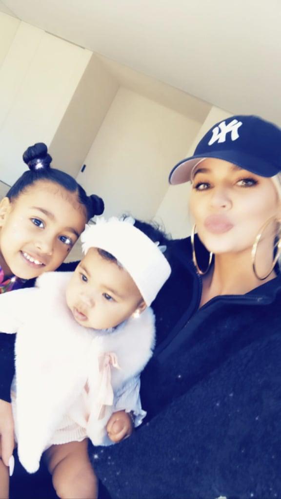 Kim Kardashian's Birthday Party for Chicago Pictures 2019