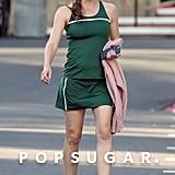 Jennifer Garner Serves Up Some Skin on the Set of Her New Movie
