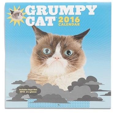 Grumpy Cat Wall Calendar ($15)