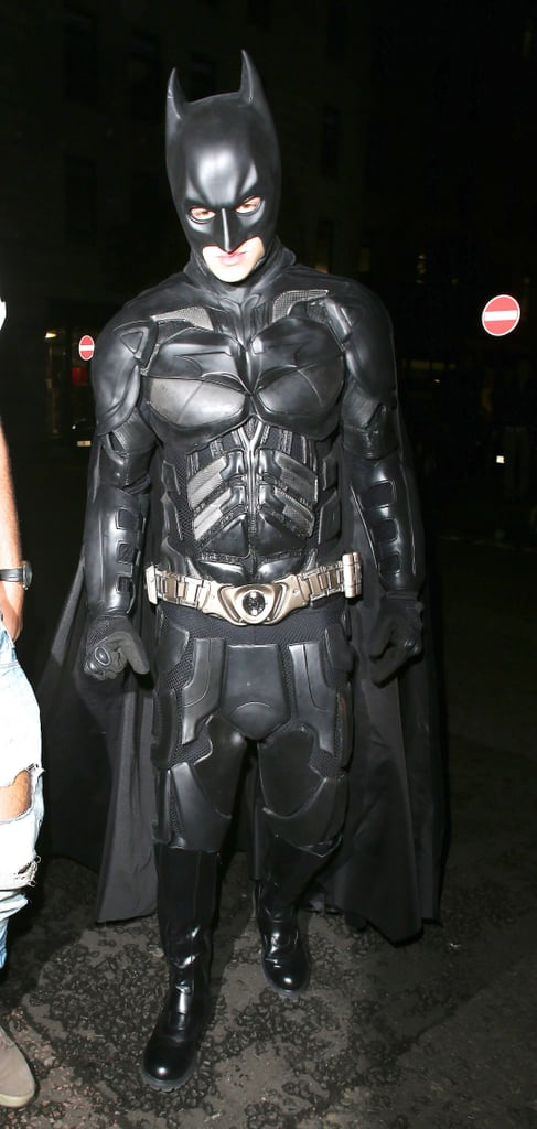 One Direction's Liam Payne was outfitted as Batman for a party in London Saturday.