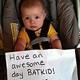 Babies for Batkid! Source: Facebook user Batkid Photo Project