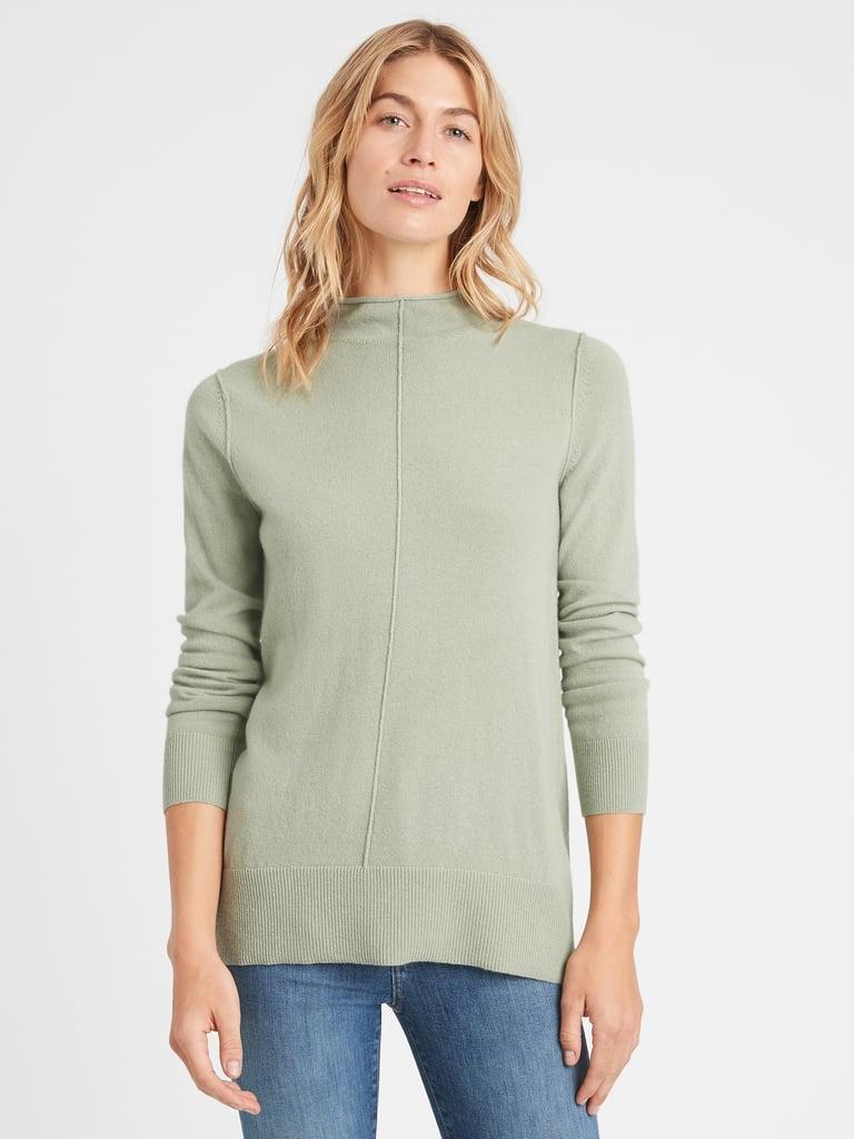 Banana Republic Italian Wool-Blend Sweater Tunic