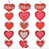 Valentine's Dangling Welcome Signs