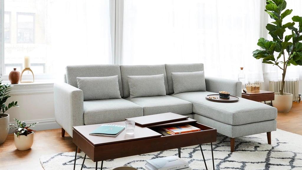 Burrow Nomad Fabric Sectional Sofa