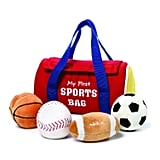 Gund My First Sports Bag Stuffed Plush Playset