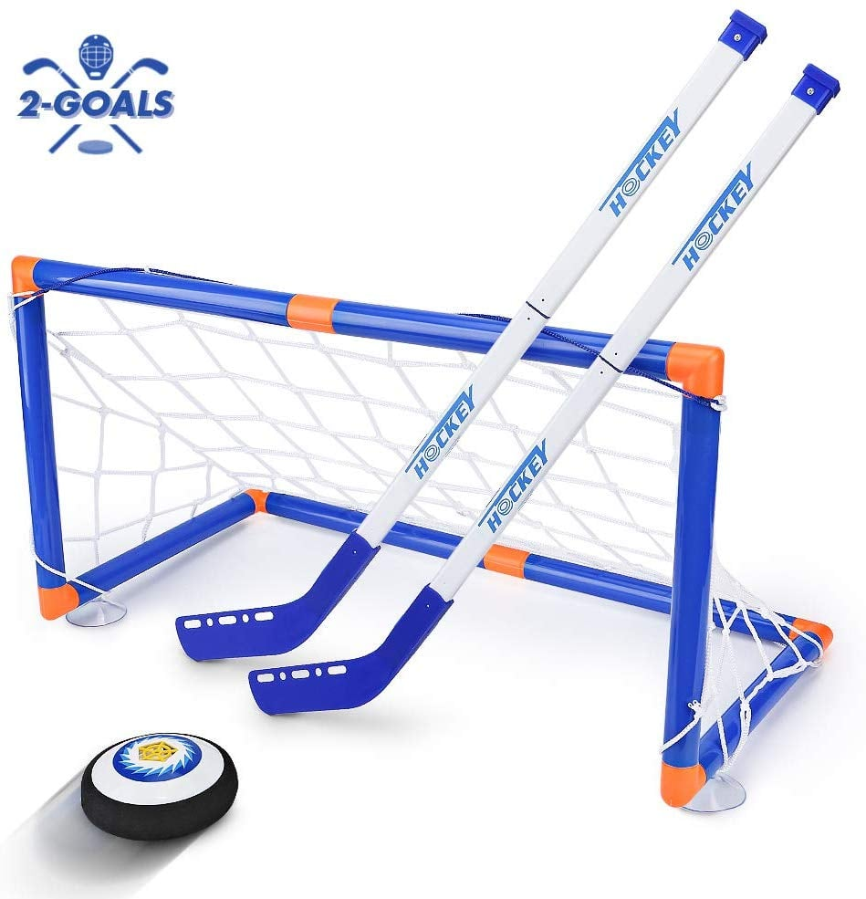 For 7-Year-Olds: Street Walk LED Hockey Hover Set