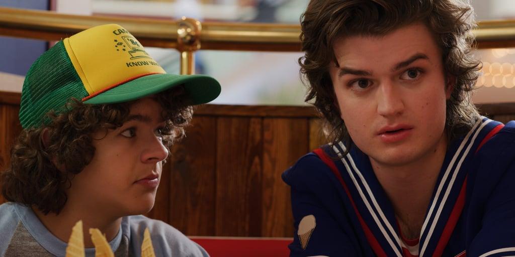 Dustin and Steve are plotting.
