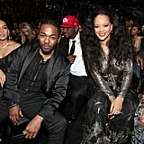 Pictured: Kendrick Lamar and Rihanna