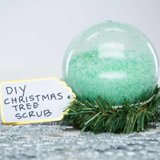 DIY Christmas Tree Body Scrub
